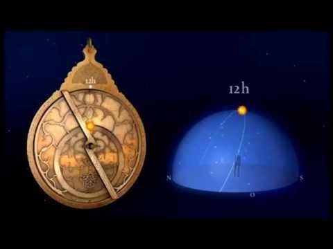 El astrolabio funcionamiento- The astrolabe how it works-L´astrolabe le fonctionnement