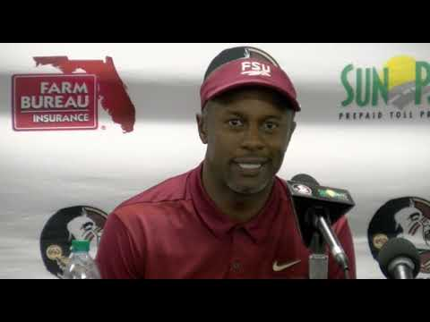 Florida State Head Football Coach Willie Taggart On 28-27 Loss To Miami