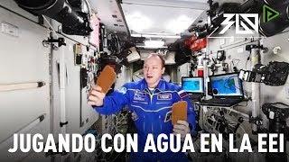 Jugando con agua en la Estación Espacial Internacional | Video 360º
