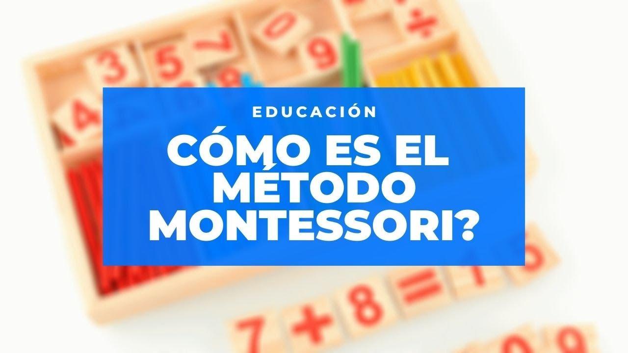 Educación: cómo es el método Montessori