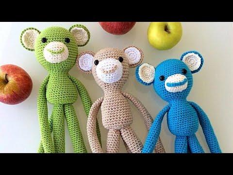 77# amigurumi maymun örüyoruz 1. bölüm kafa yapımı - YouTube | 360x480