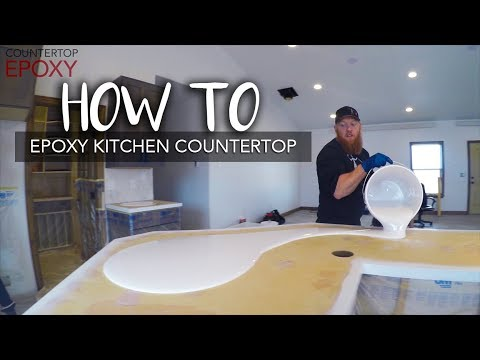 Epoxy Kitchen Countertop | HOW TO