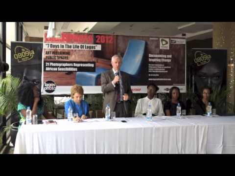 LagosPhoto Press Conference July 4, 2012