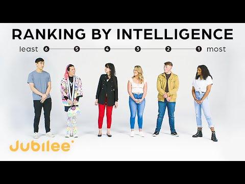 Strangers Rank Their Intelligence   IQ vs First Impressions