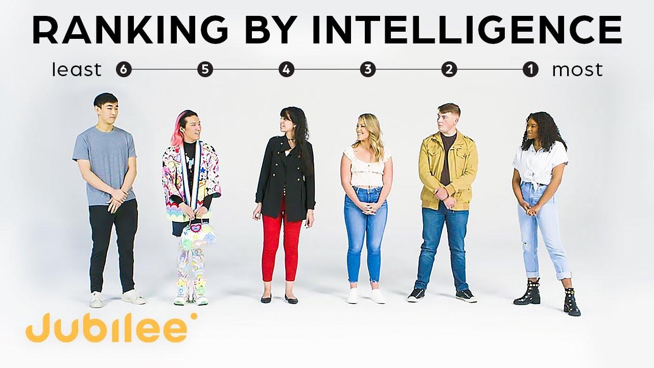 Download Strangers Rank Their Intelligence   IQ vs First Impressions