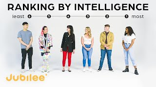 Strangers Rank Their Intelligence | IQ vs First Impressions
