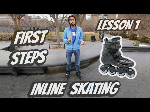 How to start rollerblade - Lesson 1