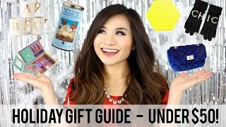 Holiday Gift Guide - ALL Items UNDER $50! | Miss Louie