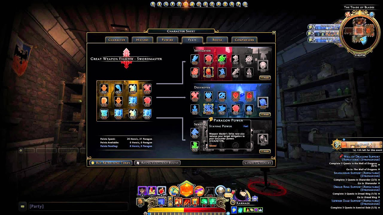 Gwf Neverwinter Pve Build