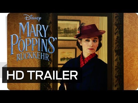 MARY POPPINS' RÜCKKEHR - Teaser Trailer (deutsch/german)   Disney HD