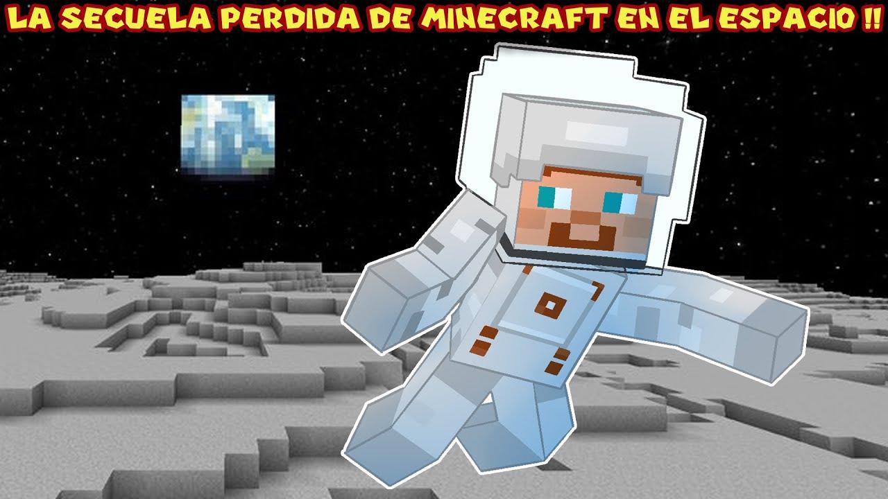 La Secuela Perdida de Minecraft EN EL ESPACIO - Pepe el Mago