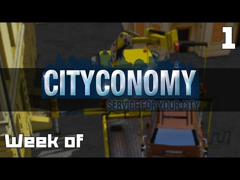 Lets Play a Week of Cityconomy Part 1 - Gameplay Introduction