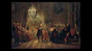 C.Ph.E.Bach.  Concerto en fa pour 4 clavecins et orchestre.