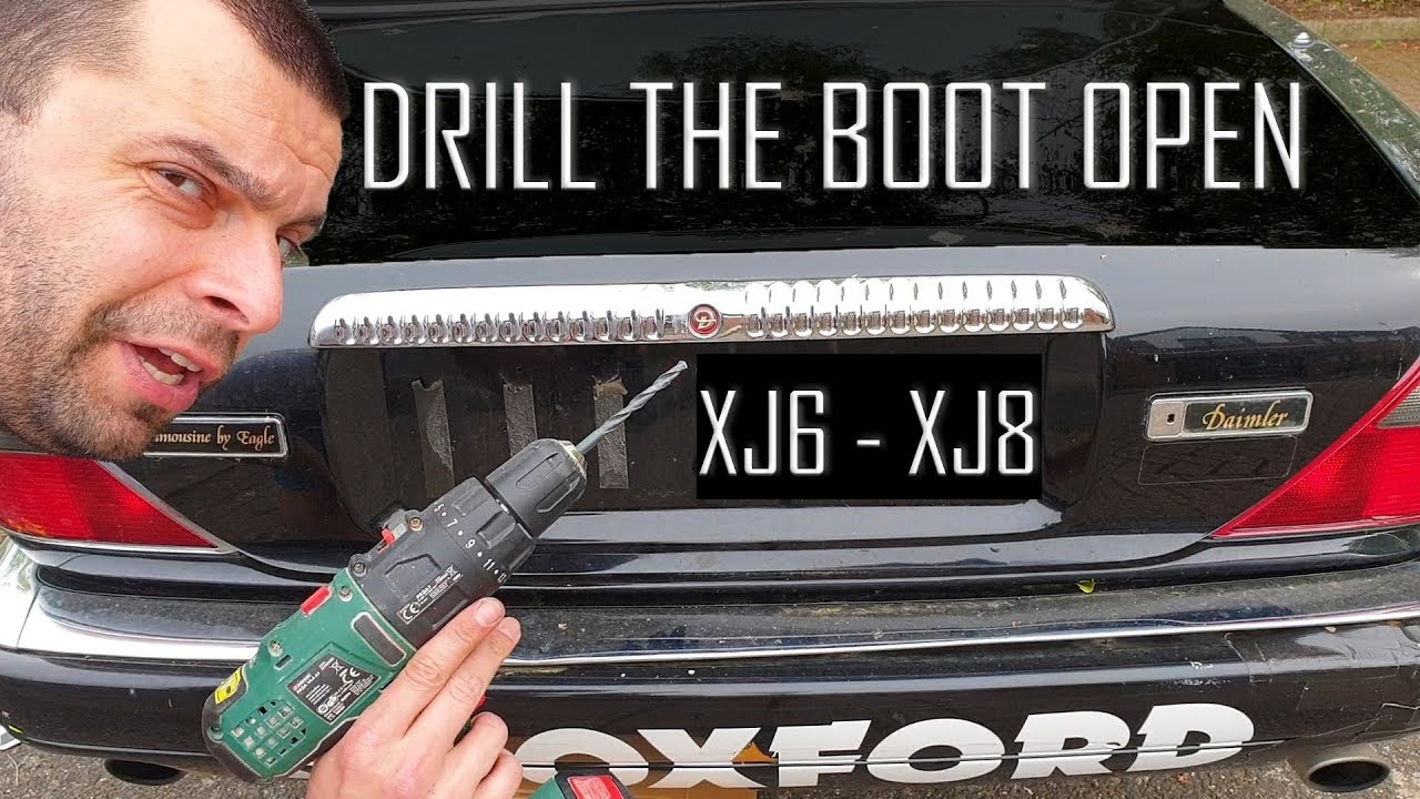 Download How to unlock the boot of your Jaguar XJ6/XJ8 with a drill