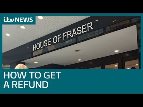 House of Fraser apologises after cancelling all online orders | ITV News