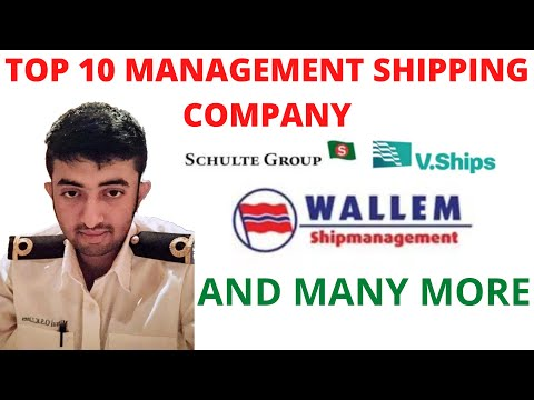 TOP 10 MANAGEMENT SHIPPING COMPANY