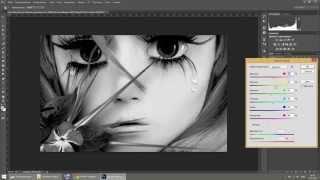 как сделать черно белое фото и черно белое сделать цветным