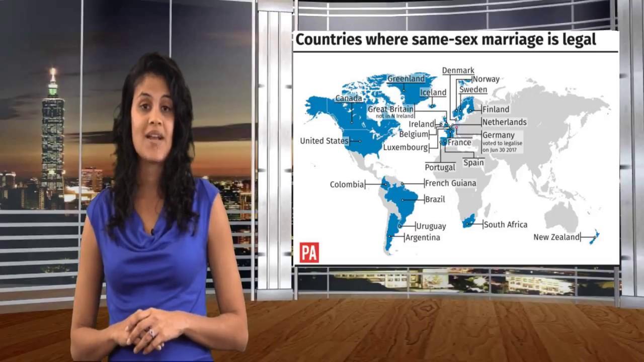 Same sex weden in canada youtube