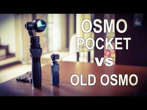 DJI OSMO POCKET VS OLD DJI OSMO - COMPARISON
