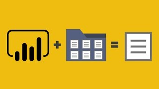 Combine Files in Power BI Desktop and Power Query - The New Easy way