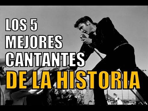 LOS 5 MEJORES CANTANTES DE LA HISTORIA