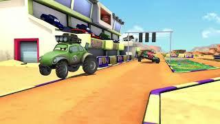 Disney PIXAR CARS Story Race Premiere #4 | Fun Videos for Children