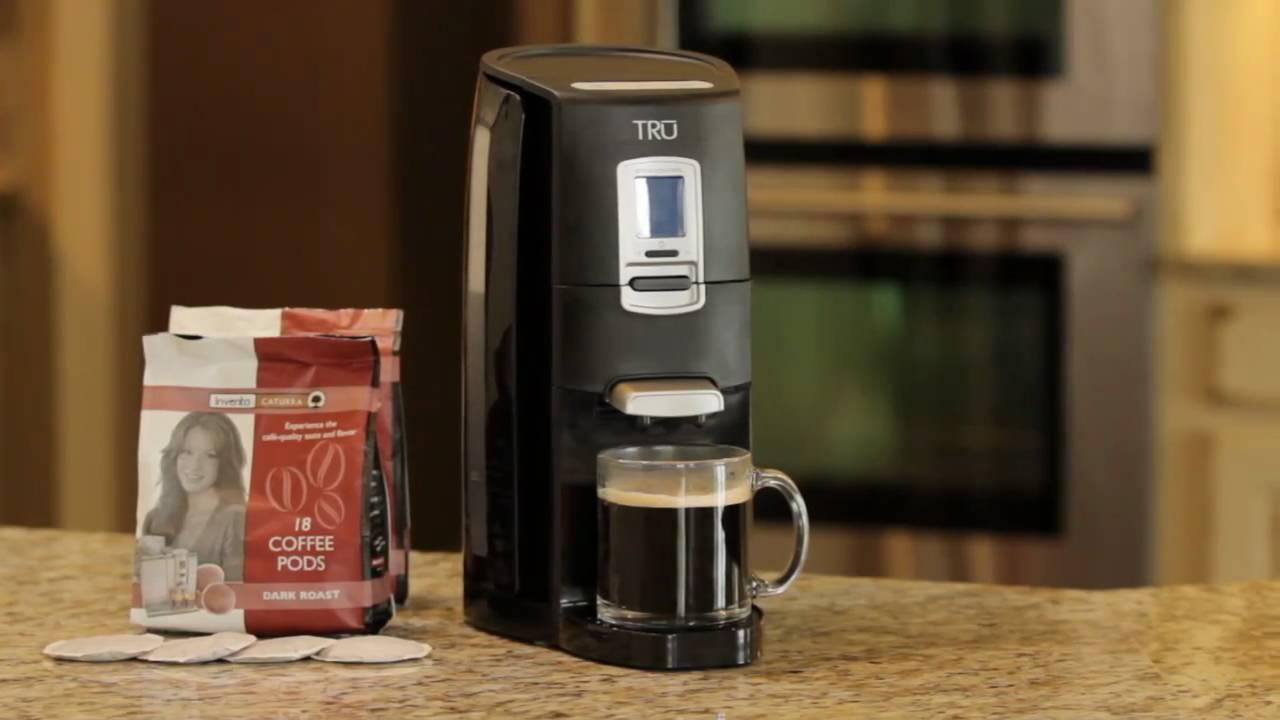 Coffee Maker For Single Person : TRU Digital Single Serve Pod Brewer - YouTube