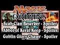 Magic Origins: Scab-Clan Berserker, Abbot of Keral Keep, and more Spoilers