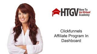 Clickfunnels Affiliate Program Built-In to Dashboard