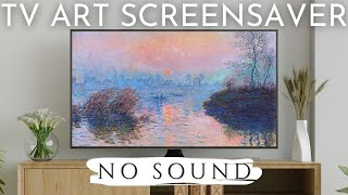 Art Screensaver for Your TV | 80 Famous Paintings | 4 Hour Classic Art Slideshow
