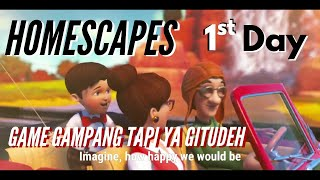 HOMESCAPES Story Walkthrough Day 1 - Game Terbaik Android 2019