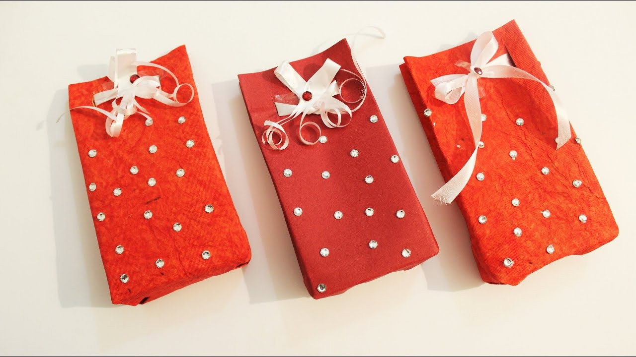 DIY- How to make Paper Gift Bag - Easy in 5 minutes - YouTube