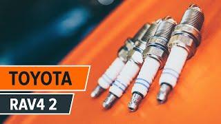Underhåll Toyota Rav4 II - videoinstruktioner