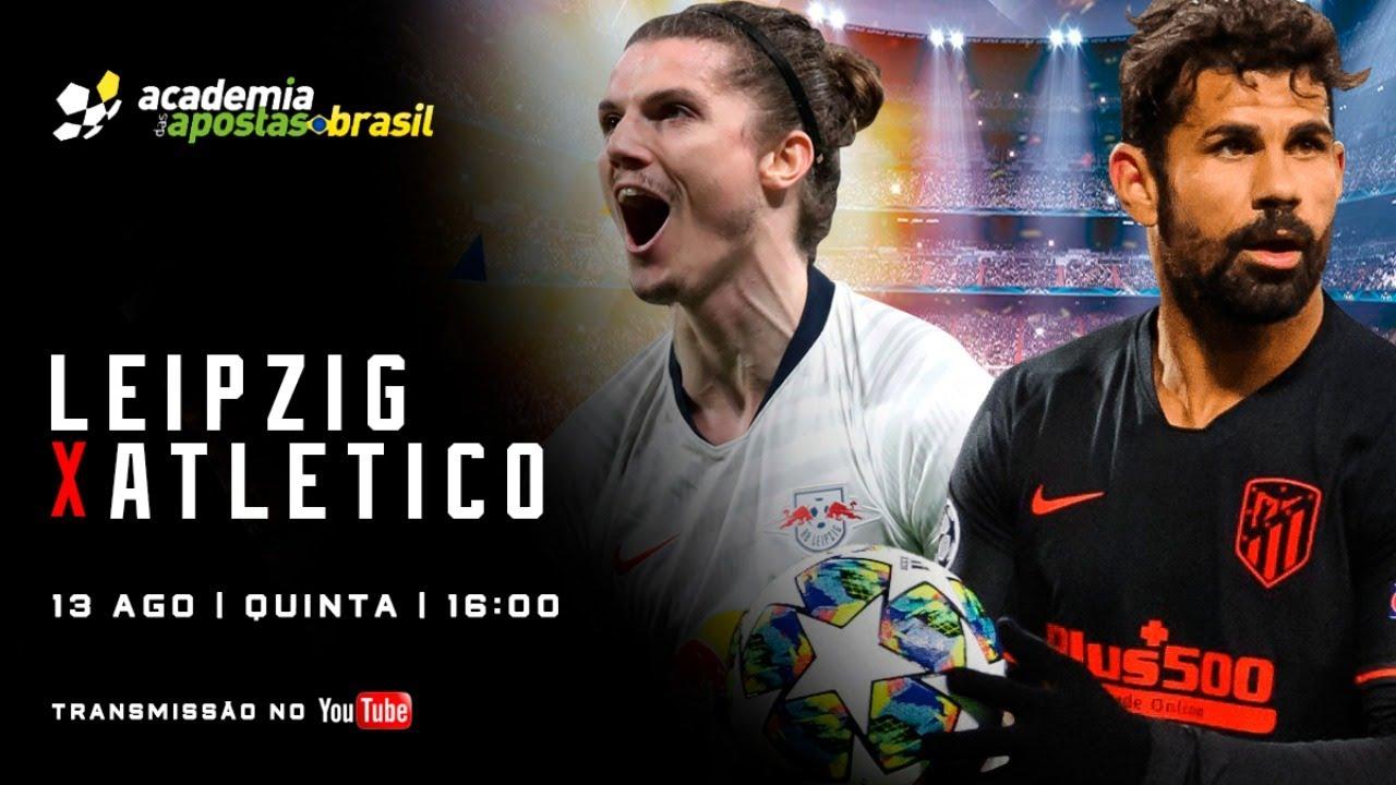 RB Leipzig x Atlético Madrid ao vivo - Champions League / Acompanhamento