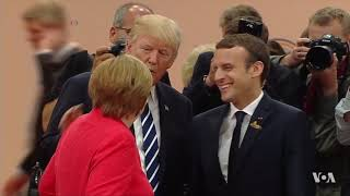 Trump Heads for Difficult Encounter in France thumbnail