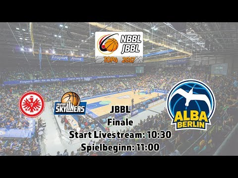 JBBL Finale: Eintracht Frankfurt / FRAPORT SKYLINERS vs. ALBA Berlin
