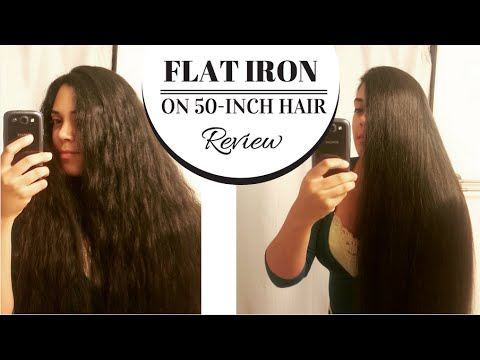 how to keep hair flat after straightening it