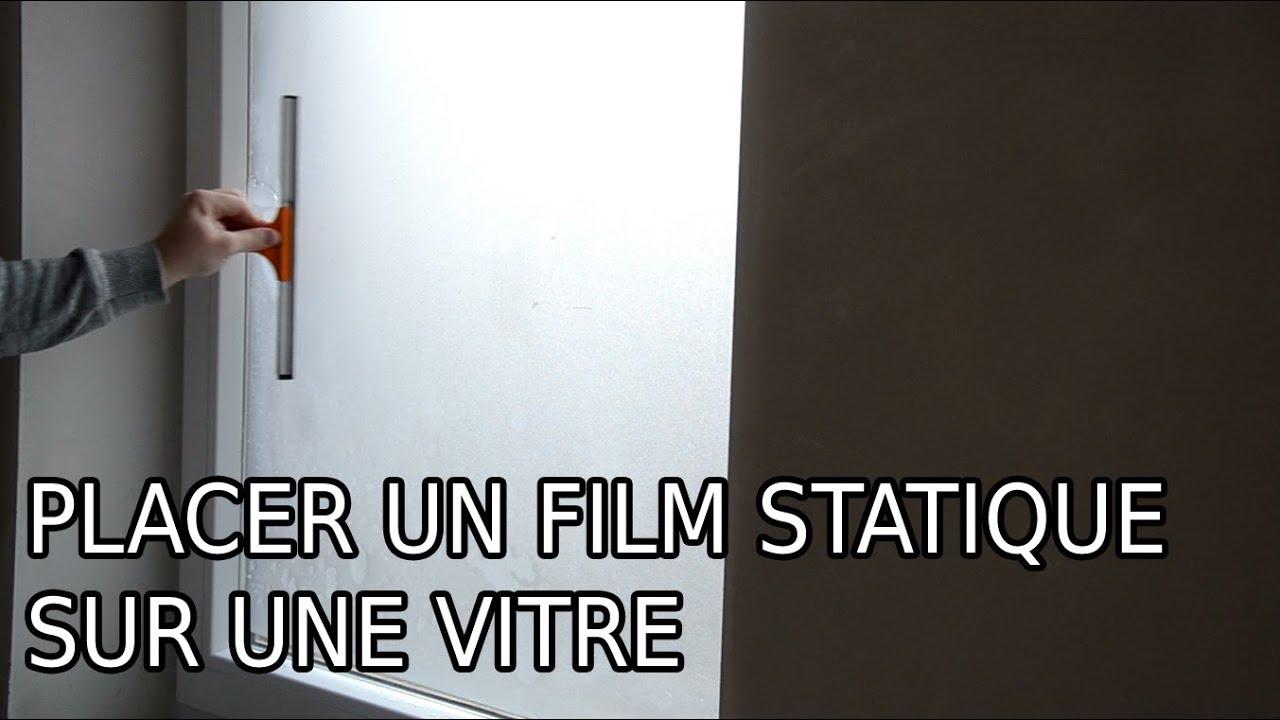 Placer Un Film De Vitre En 2 Minutes Youtube