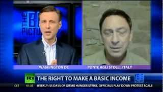 The right to make a basic income (Interview with Guy Standing, RT The Big Picture)