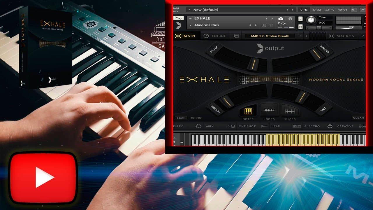 EXHALE Kontakt / Review Of Exhale By Output / Kontakt 5 / DEMO Sound