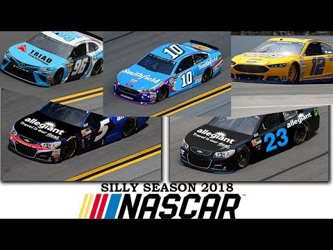 NASCAR 2018 SILLY SEASON RUMORS AND PREDICTIONS  YouTube