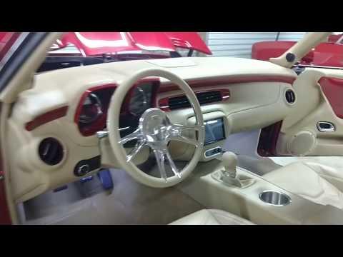 Stitched By Slick 69 Camaro Interior Swap
