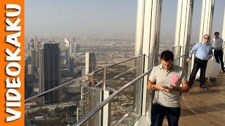 World highest open balcony - Burj Khalifa