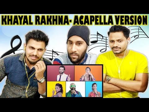 Indian Guys Reacts To Khayal Rakhna - Acapella Version by Ali Noor | Krishna Views