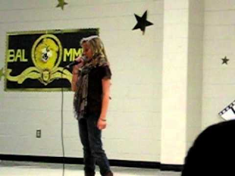 Clare Maloney Talent show