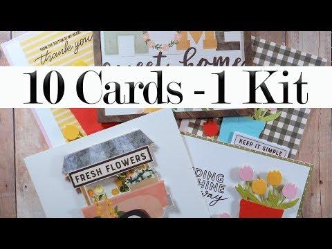 10 Cards | 1 Kit – SSS April 2019 Card Kit (Part 1 of 2)