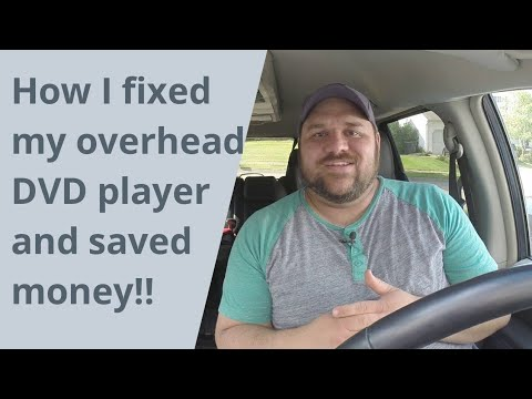 Download How to fix a car DVD player and save💲💰💲
