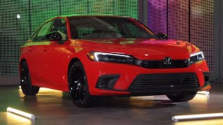 homepage tile video photo for All-New 2022 Honda Civic Sedan Walkaround