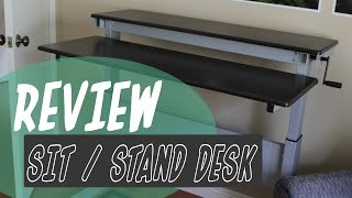 Sit / Stand Desk Review From Standupdeskstore.com