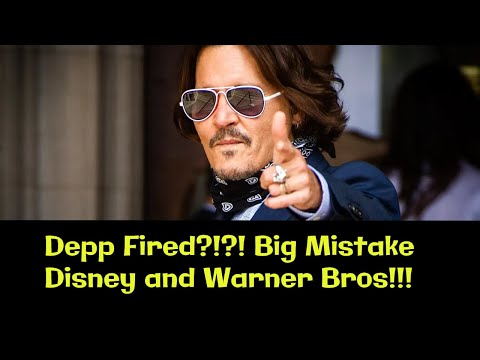 Johnny Depp Fired!?! BIG MISTAKE Disney and Warner Bros. Gets full Salary. Thosands want him Back! Your Videos on VIRAL CHOP VIDEOS
